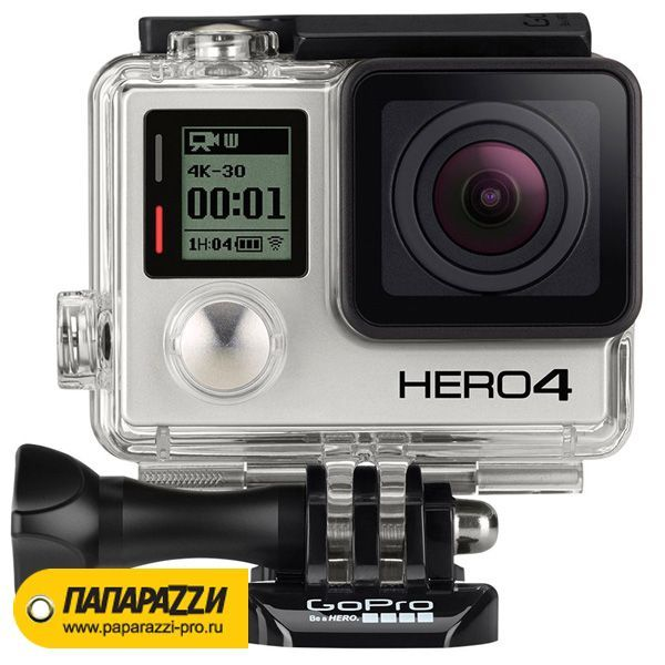Экшн-камера GoPro HERO4 Black Edition - Adventure (CHDHX-401)