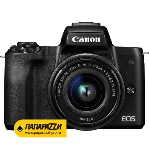 Цифровой фотоаппарат Canon EOS M50 kit 15-45 IS STM Black-1