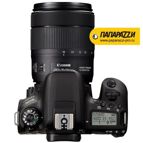 Зеркальный фотоаппарат Canon EOS 77D kit 18-135mm IS STM-5