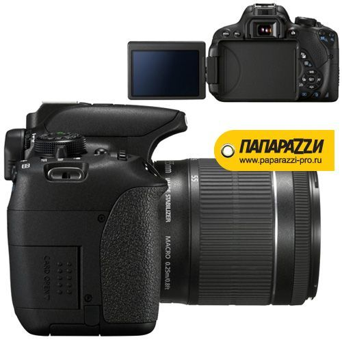 Зеркальный фотоаппарат Canon EOS 700D Kit 18-55mm IS STM-3