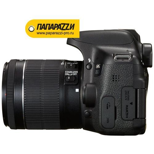 Зеркальный фотоаппарат Canon EOS 750D kit 18-55mm IS STM-3