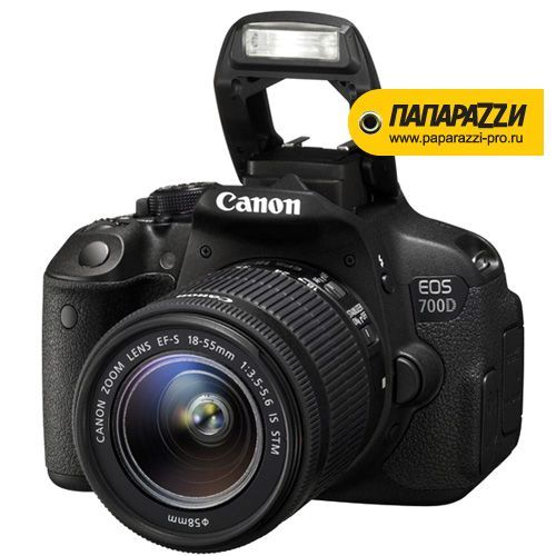 Зеркальный фотоаппарат Canon EOS 700D Kit 18-55mm IS STM-1