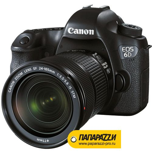 Зеркальный фотоаппарат Canon EOS 6D kit 24-105mm IS STM-1