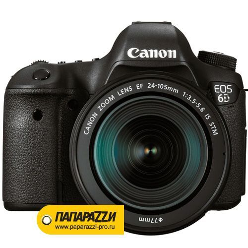 Зеркальный фотоаппарат Canon EOS 6D kit 24-105mm IS STM-0