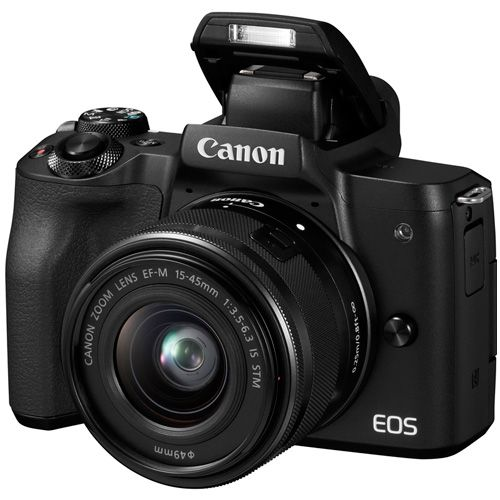 Цифровой фотоаппарат Canon EOS M50 kit 15-45 IS STM Black