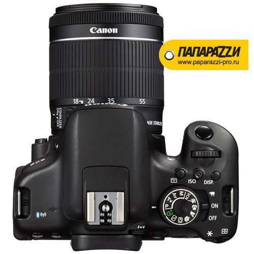 Зеркальный фотоаппарат Canon EOS 750D kit 18-55mm IS STM-2