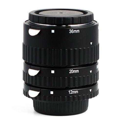 Набор макроколец PWR для Nikon с управлением функциями объектива
